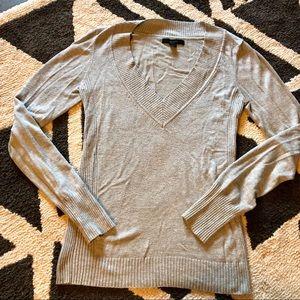 Long Sleeve V Neck Express Sweater